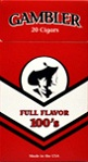 Gambler Little Cigars Full Flavor 100s  - Product Image