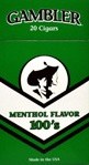 Gambler Cigars Menthol 100s OUT OF STOCK   - Product Image