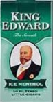 King Edwards Little Cigars Ice Menthol - Product Image
