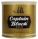 Captain Black Pipe Tobacco Gold Tin - Product Image
