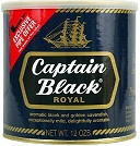 Captain Black Pipe Tobacco Royal Tin - Product Image