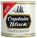 Captain Black Pipe Tobacco White Tin - Product Image