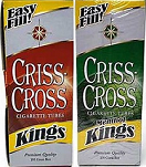 Criss Cross KING Tubes 1000 CountOut of Stock - Product Image