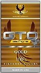 GTO Filtered Cigars Gold / Smooth  - Product Image