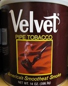 Velvet Pipe Tobacco 12 oz. Can - Product Image